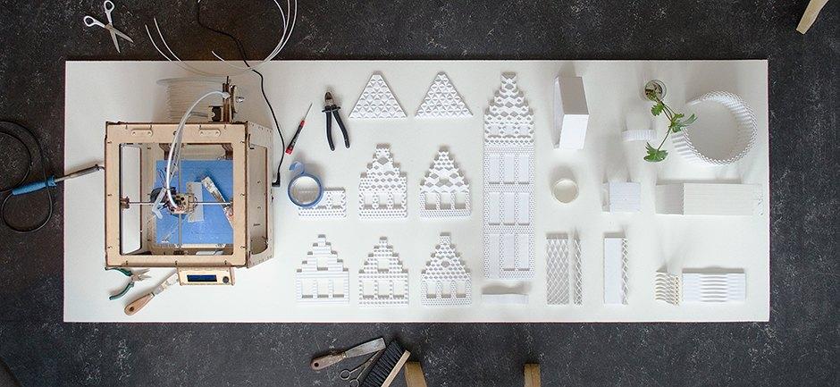 Проект дома, напечатанного на 3D-принтере