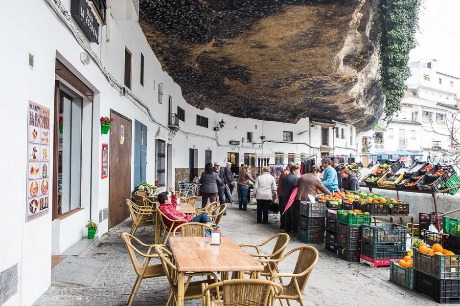 Setenil de las Bodegas рынок