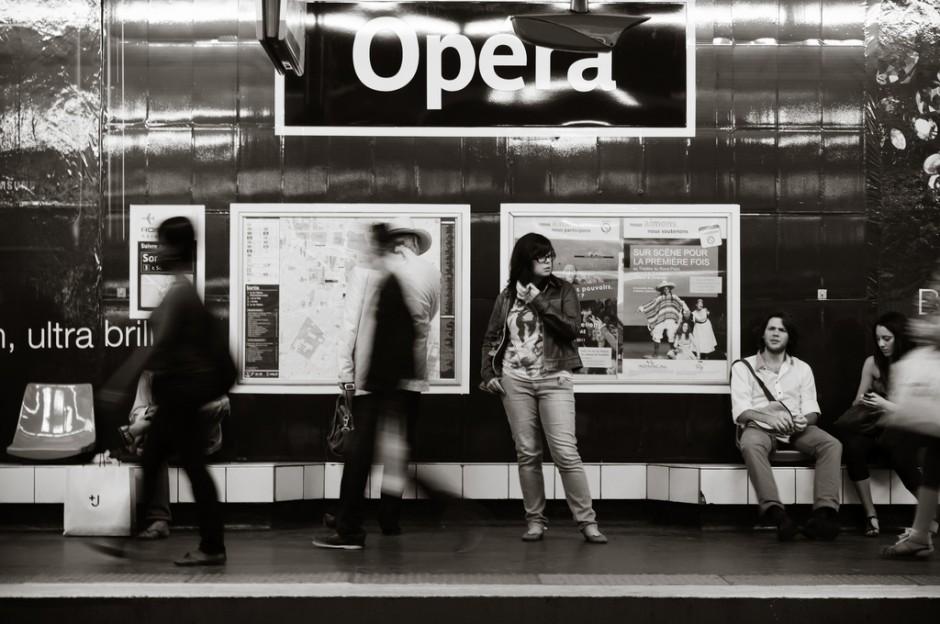Metro Opera Paris