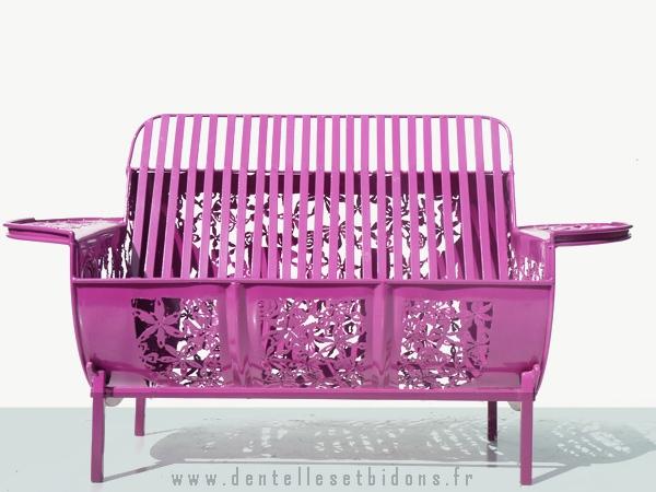 садовая мебель Dentelles & Bidons