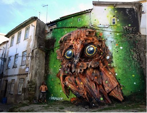 Owl-sculpture-Lisbon