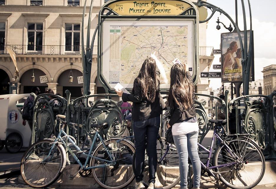 туристки-вело